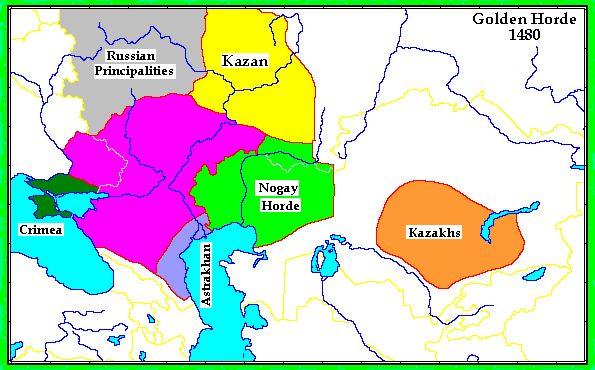 El Conquistador: Khanate Astrakhan