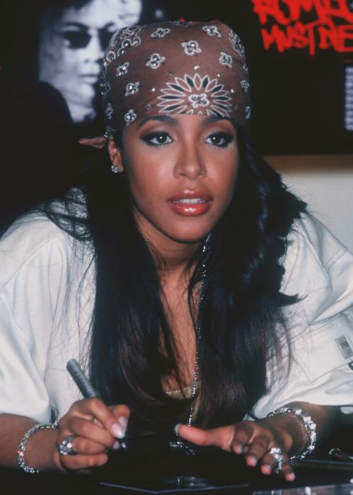 that hair. #aaliyah