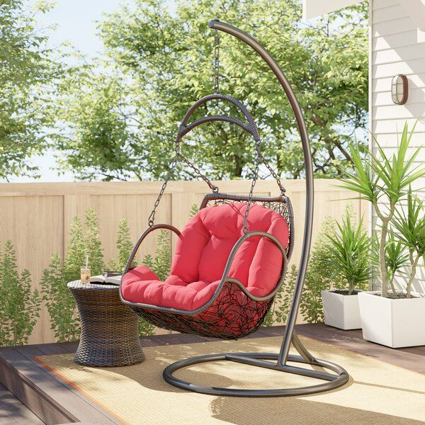 Holladay Swing Chair With Stand Swinging Chair Chair Egg Swing