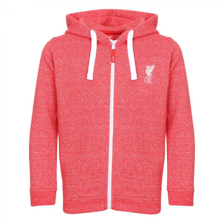LFC Girls Red Zip Thru | Liverpool FC Official Store