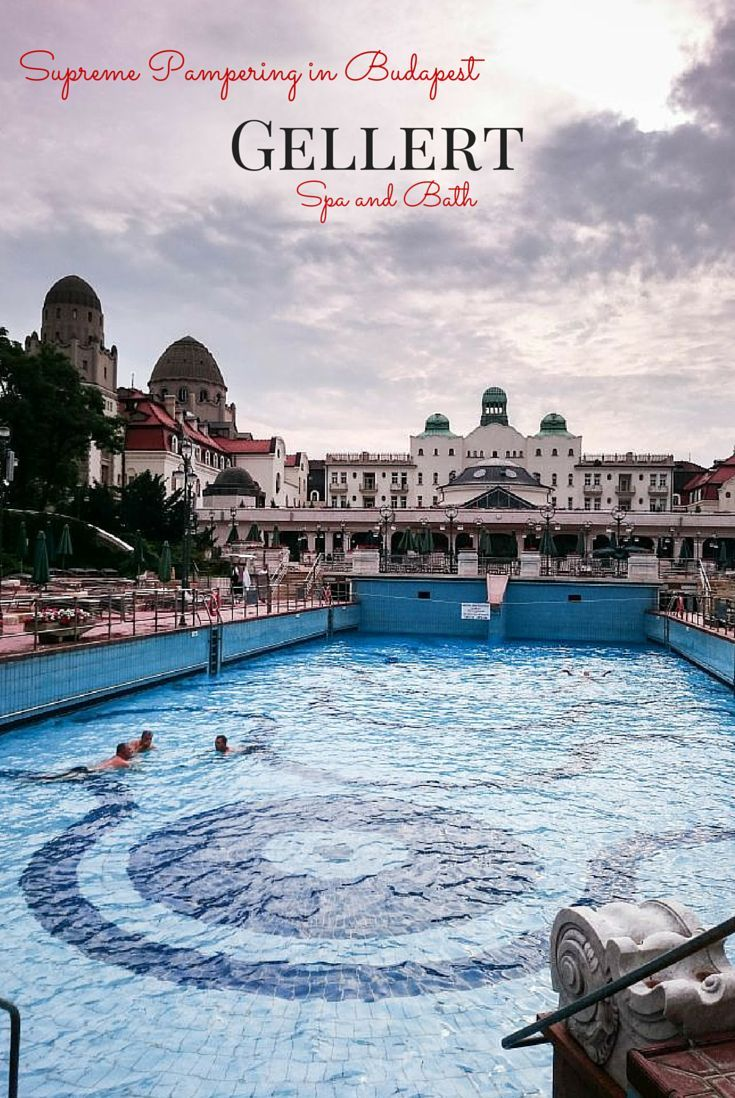 The Gellert Spa and Bath is an experience that everyone visiting the stunning city of Budapest must try.  Don't get left in the cold...click here to find out how to get the most out of your spa experience. ~ReflectionsEnroute