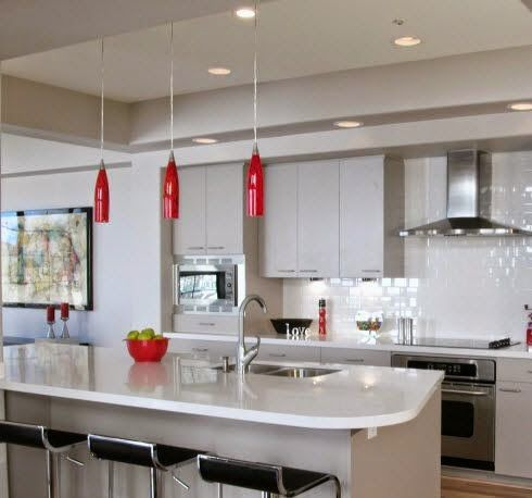 Best 25 led kitchen ceiling lights ideas on pinterest ceiling led kitchen ceiling lighting provides practical durable cool and cost effective illumination explaining aloadofball Gallery