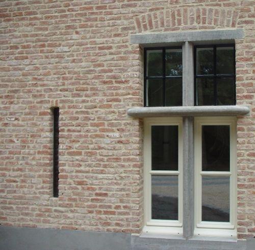 Kempische Bouwmaterialen - Muurankers en voetschrapers, window