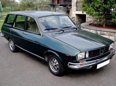 Renault 12 S familiar. No Brasil, foi comercializado pela Ford com o nome de Belina.