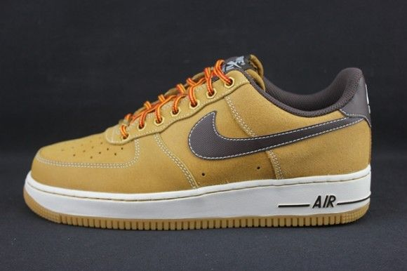 promo code 0fabd 9df36 Nike Air Force 1 Low Wheat  KixandtheCity.com Fresh Sneakers in 2019   Pinterest  Nike air force, Air force 1 and Nike