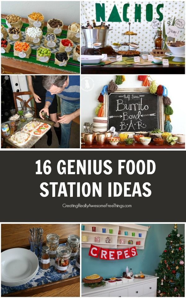 16 delicious party bar ideas for your next gathering!