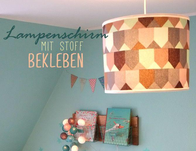 die besten 25 lampenschirme stoff ideen auf pinterest lampenschirm aus stoff lampen selber. Black Bedroom Furniture Sets. Home Design Ideas