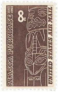 1967 8c Alaska Purchase Scott C70 Mint F/VF NH  www.saratogatrading.com