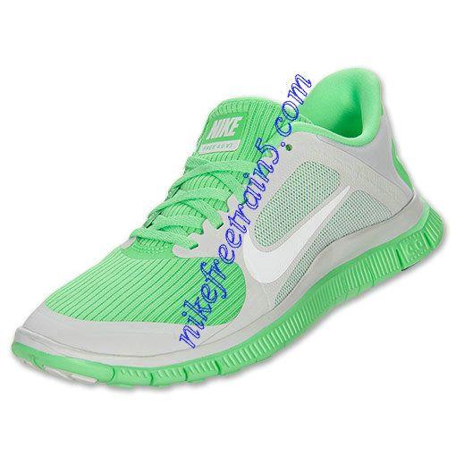 Nike Free 4.0 V3 Womens Pure Platinum White Poison Green 580406 013. Nike  Shoes SaleNike ...