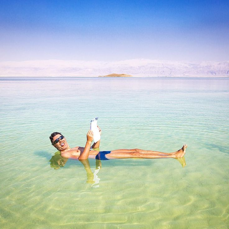 Mar Morto, Israel.