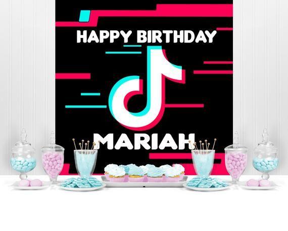 Musical Backdrop Music Banner Music Birthday Music Party Etsy Birthday Party For Teens Banner Backdrop Birthday Backdrop