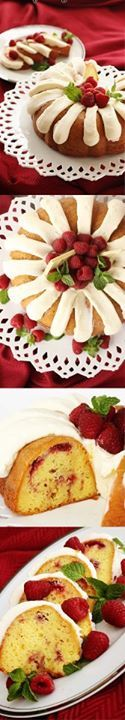 yummy food recipes: Our Version of Nothing Bundt Cakes' White Chocolate Raspberry Cake the best