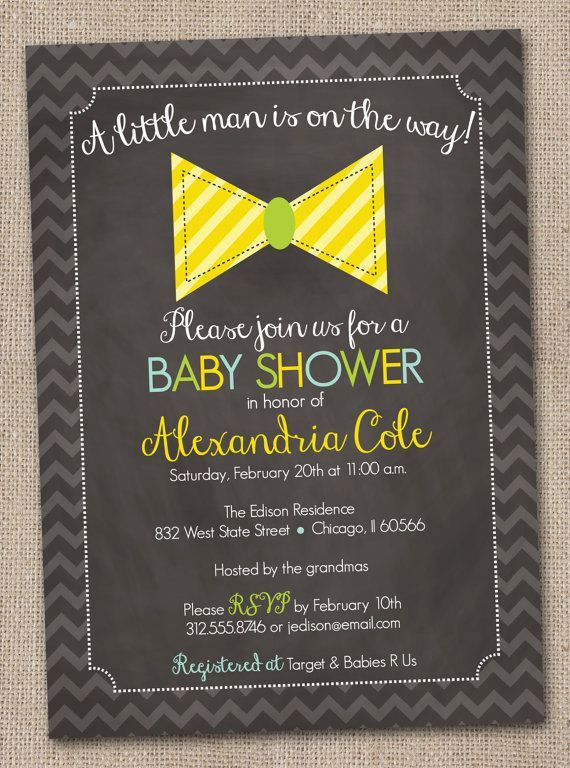 lil+man+baby+shower | Little Man Bow Tie Baby Shower Invitation by InkObsessionDesigns, $16 ...