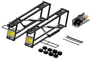 Ranger BL-3500SLX Quickjack 3500lb Capacity Portable Car Lift System 5175196 | Best Buy Auto Equipment