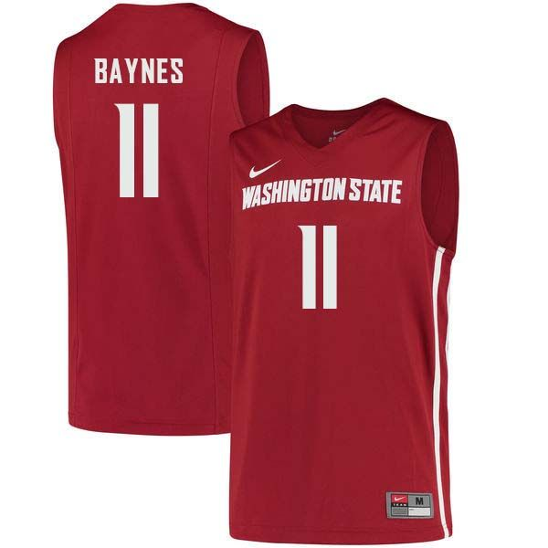 san francisco 4c6e4 ec3d5 Men #11 Aron Baynes Washington State Cougars College ...