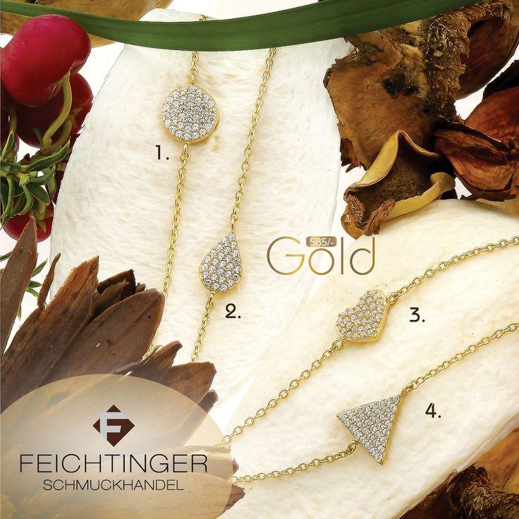 Armbänder, 585/- Gelbgold, Zirkonia, 19 cm Mit Business-Card schon ab € 74,00 1. Kreis 8 mm, ArtNr.: 350771 2. Tropfen 9 x 6 mm , ArtNr.: 350772 3. Herz 8 x 8 mm, ArtNr.: 350770 4. Dreieck 8 x 8 mm, ArtNr.: 350769 #schmuck #feichtinger #feichtingerschmuck #schmuckhandelfeichtinger #ehering #eheringe #hochzeit #hochzeitsschmuck #verlobungsringe #trauringe #madeinaustria #liebe #jewellery #wedding #ring #love #gold #weddingring #weddingrings #memoirering #armreifen #armband #armschmuck