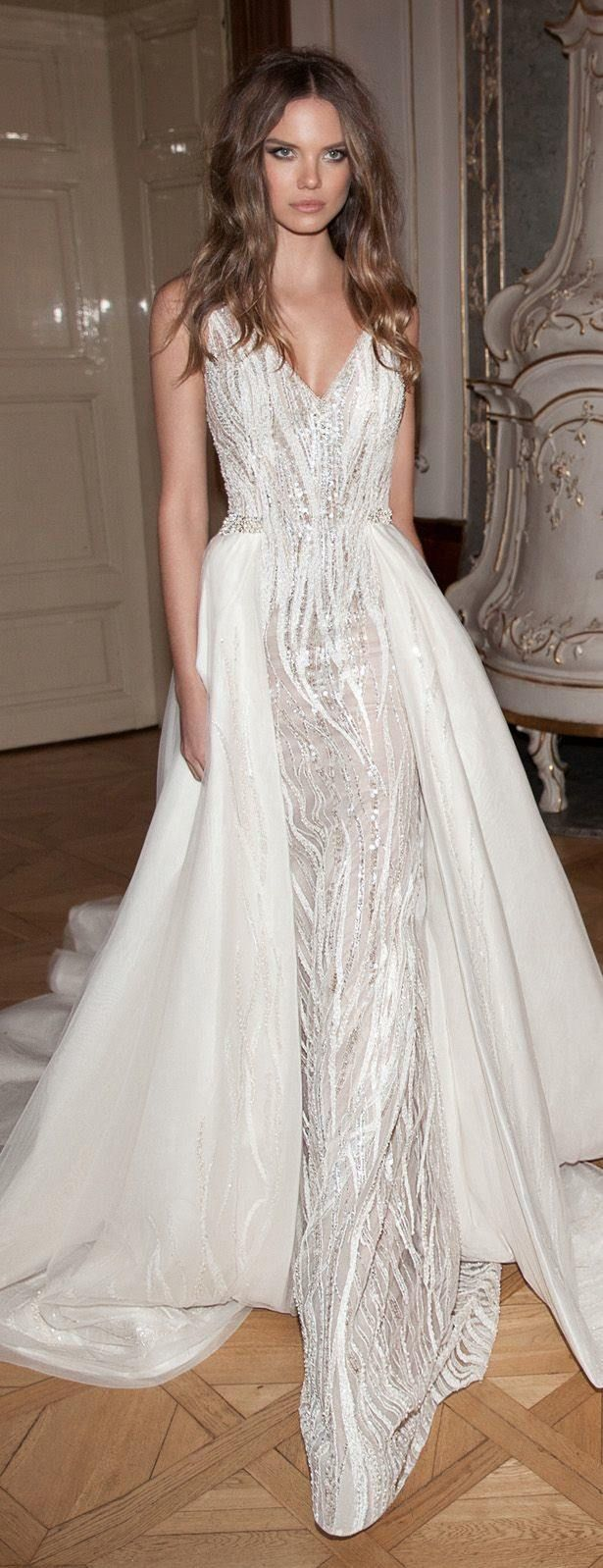 Editor's Picks: 22 Amazing Hand-Beaded Wedding Dresses - MODwedding