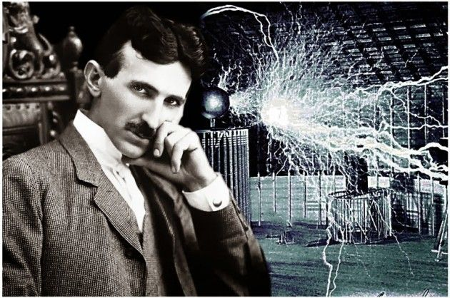 Nikola Tesla What many are not aware of is that while George Westinghouse and Thomas Edison snatched recognition for the electric light invention along with the currents they used, Tesla was the man behind both men who worked as their consultant and he trademarked the AC induction motor.
