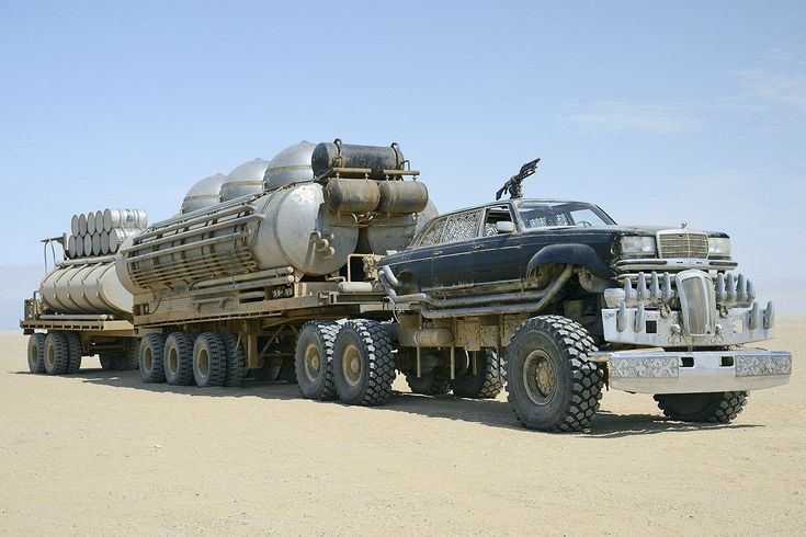 Mega Mad Max vehicle round up | DJ Food