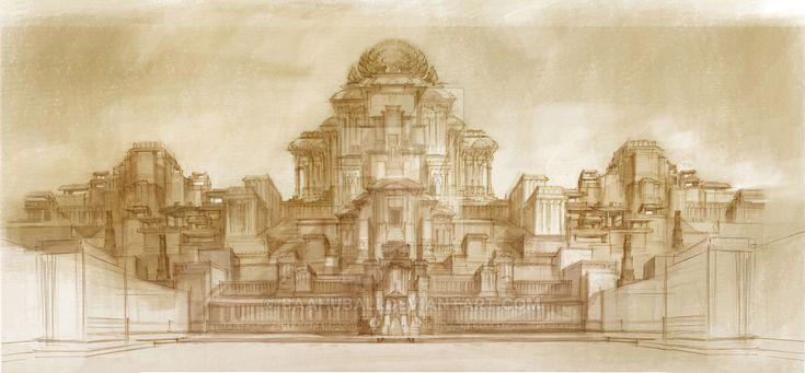 Palace Design Concept by Baahubali.deviantart.com on @DeviantArt