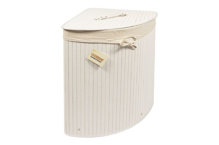 New Arrivals! Kobe Bamboo Corne.... Hurry, before its all sold out! http://gsr-decor.myshopify.com/products/kobe-bamboo-corner-laundry-storage-bin.
