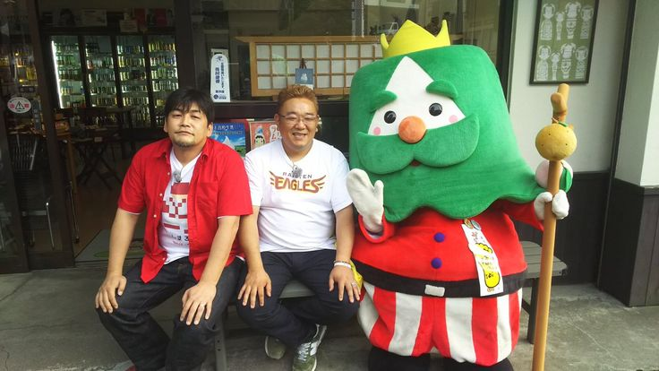 サンドイッチマン&ざおうさま(蔵王町観光PRキャラクター)