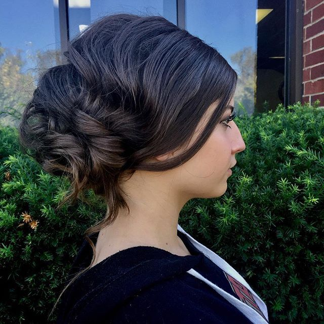 Top 100 hairstyles for weddings photos | Messy Bridal Hair |  Model: Sophia  @_sophia_rose_14 @amuanashville • • •  #bridalhair #bridalupdo #bridalhairpractice #weddinghair #weddinghairstyles #weddinghairideas #messyupdos #messybuns #updo #longhair #hairstylesforweddings #bridalupdo #nashvillemakeupartist #mua #hairbender See more http://wumann.com/top-100-hairstyles-for-weddings-photos/