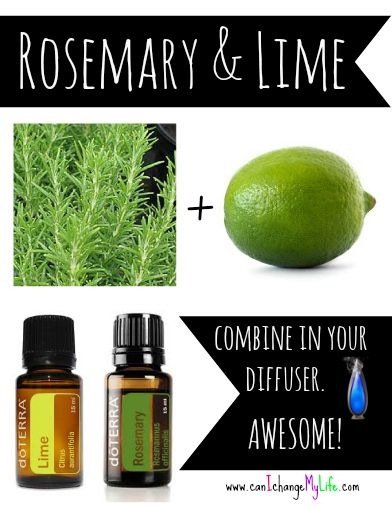 Diffuse Rosemary and Lime- smells fantastic! and it promotes focus and energy More