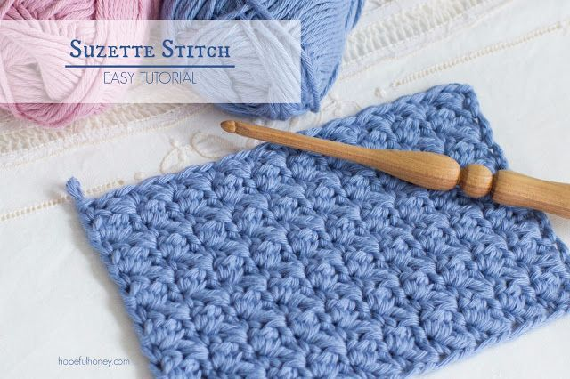 Watch how to crochet the suzette stitch (video tutorial & written instructions)