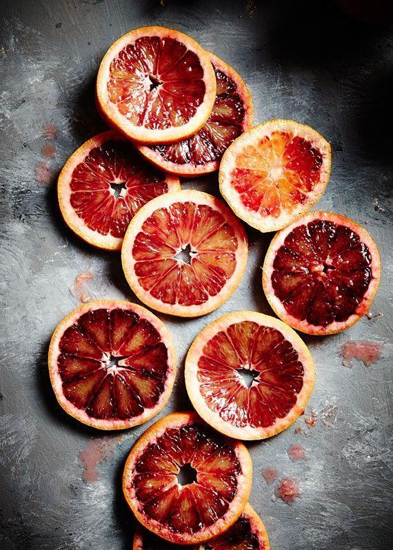 Blood Orange Slices /