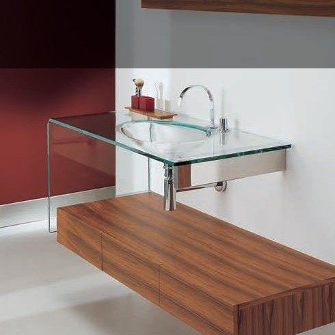 Peter Pan | Glaswaschtisch  Schubladenmodul 150x15