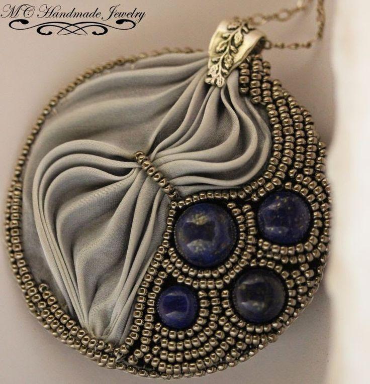 Abalorios Ababeads: Shibori & Lapis Lazuli Pendant Mi nuevo colgante ...