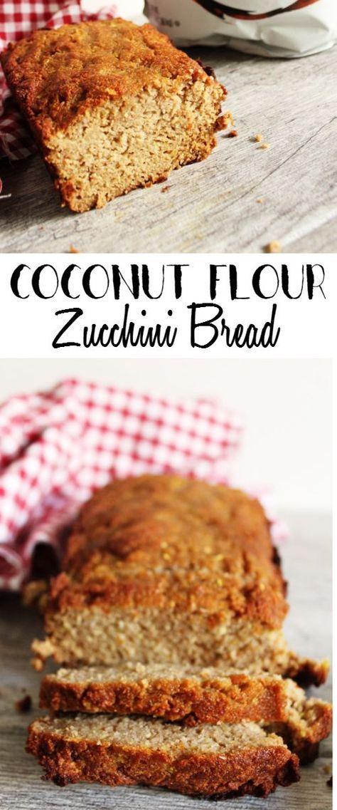 Coconut Flour Zucchini Bread | Dairy Free, Gluten Free, Paleo | Lean, Clean, & Brie