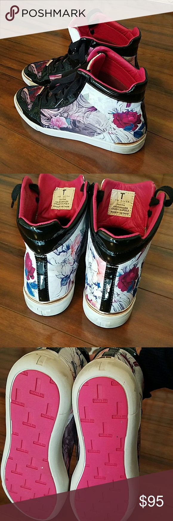 😍❤Ted Baker Stylish Tennis Shoes that  9 is true to it's size 8 in half will work also Ted Baker Shoes Sneakers