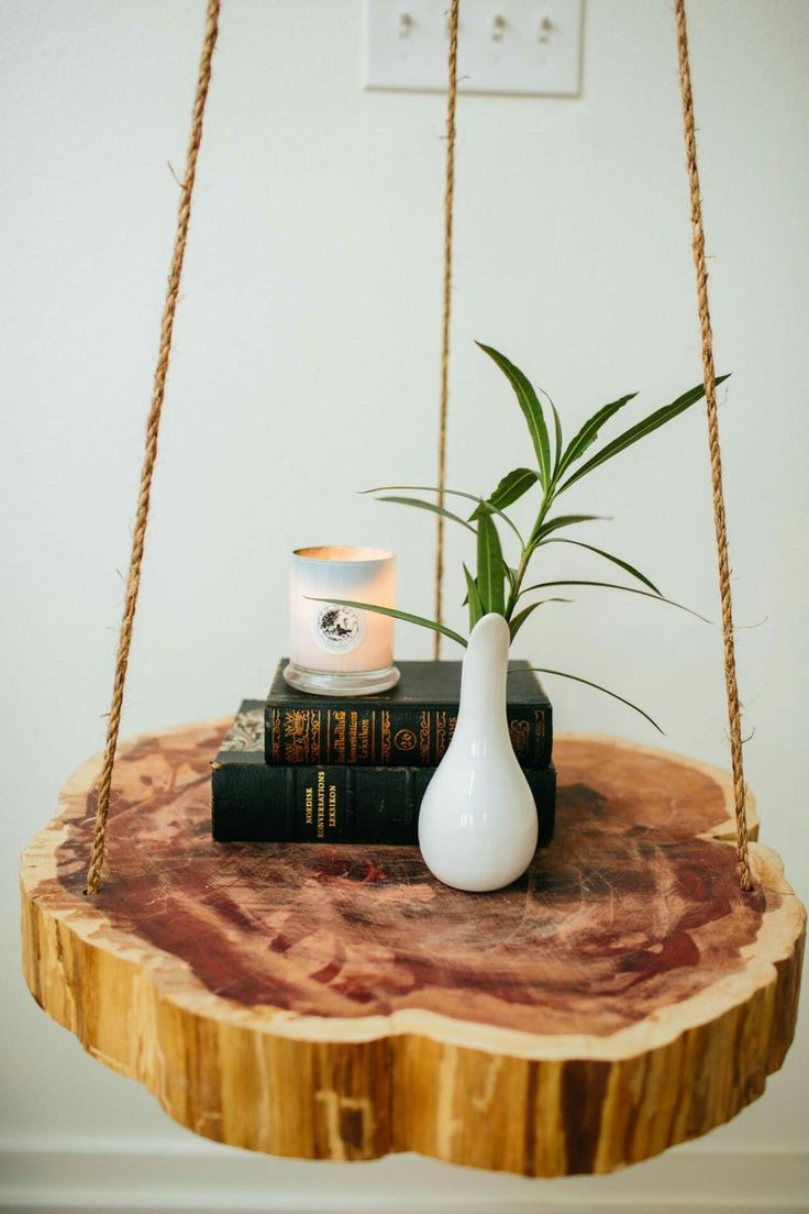 modern look living room small country ideas hanging night stand/end table | diy pinterest ...