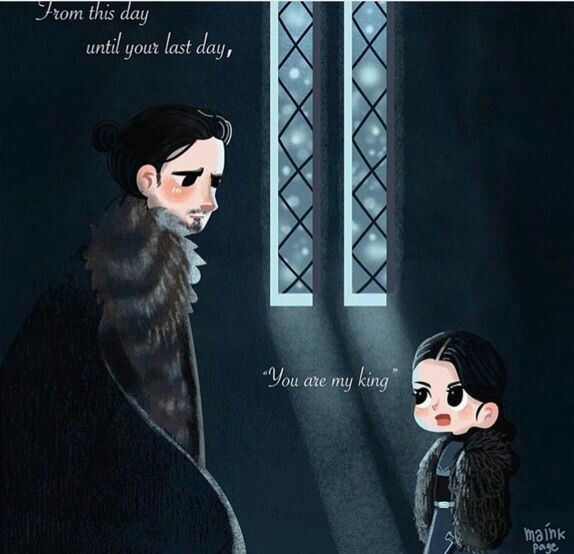 Lyanna Mormont is the best. I swear to God if she dies THERE WILL BE A RECKONING. Also I still think it's super precious that she's named after Jon's mom, er, I mean aunt, um spoilers? I mean we all knew it was coming though.
