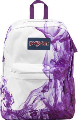 JanSport SuperBreak Backpack Multi / Purple Drip Dye - via eBags.com!