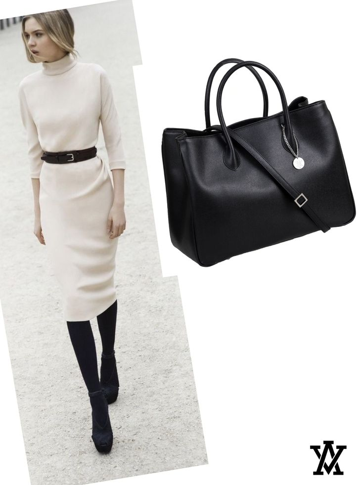 Italian leather handbags  Code: MILANO GRANDE black shoponline➡️www.adelevian.com