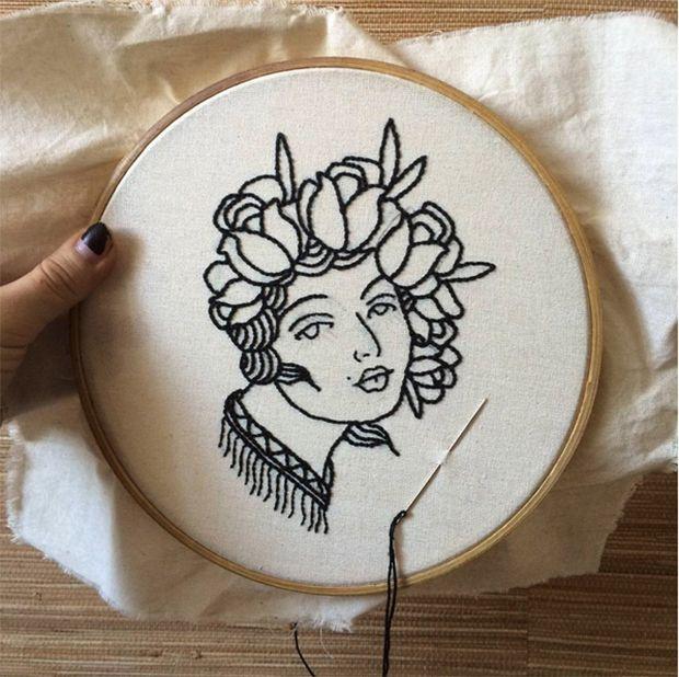 Open Eye Collective: a marca brasileira cria bordados exclusivos inspirados em tatuagens tradicionais;