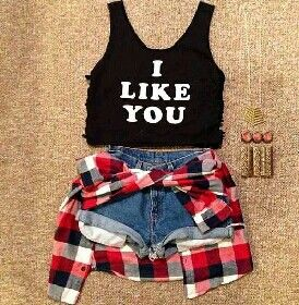 I Like You outfit (forever 21) ~Teenage Fashion~