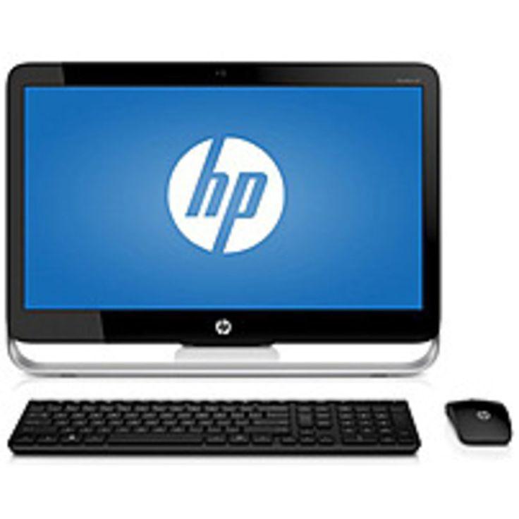 HP Pavilion F3E48AA 23-g013w All-in-One Desktop PC - Intel Pentium G3220T 2.6 GHz Dual-Core Processor - 4 GB DDR3 SDRAM - 1 TB Hard Drive - 23-inch Display - Windows 8.1 - Black