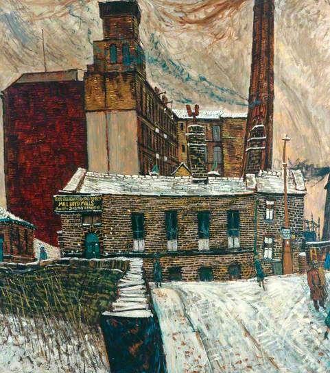 PETER BROOK Mill in Winter (1958)
