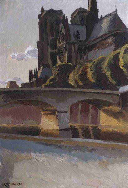 DUNCAN GRANT (1885 - 1978) Notre Dame, Paris