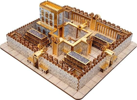 The third temple or ezekiel s temple is a holy temple architecturally