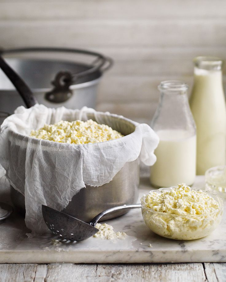 Homemade ricotta has a fresh, clean, milky flavour and a light texture. It's extremely versatile too – wonderful fresh, as it is, or used as an ingredient in baked pasta dishes. It also adds a subtle cheesiness to savoury fritters, sweet desserts, tarts and cakes.
