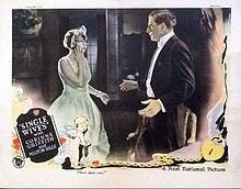 Single Wives (1925 lobby card) Corinne Griffith