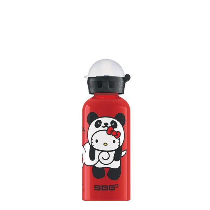Sigg Kinder Trinkflasche Hello Kitty Panda Rot 0.4 Liter