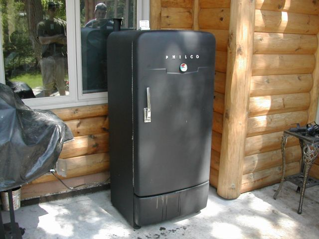 How to build a smoker from and old fridge.