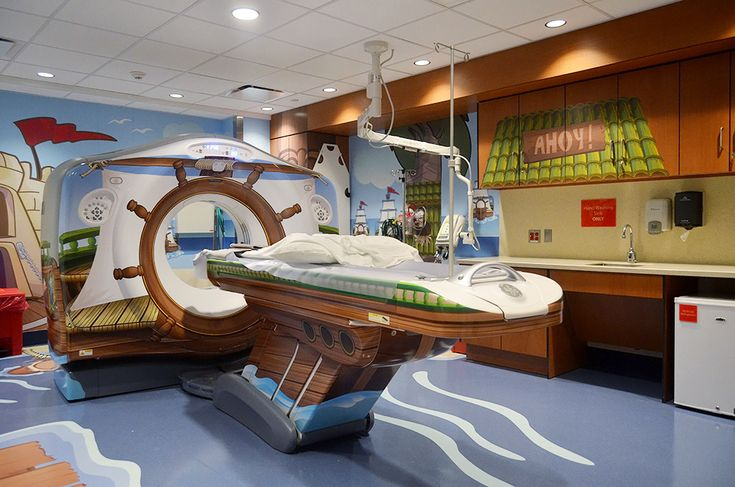 New York City Children's Hospital Gets A Pirate-Themed X-Ray Machine