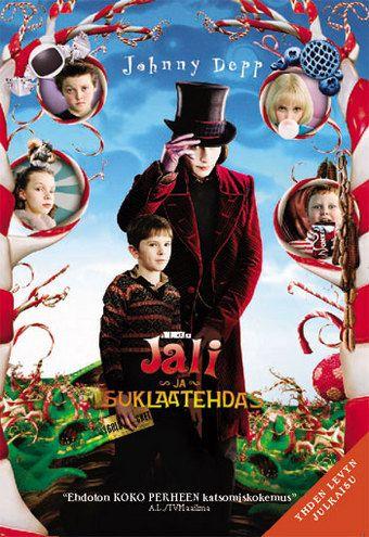 Komedia vuodelta 2005 ohjaus Tim Burton pääosissa Freddie Highmore ja Johnny Depp.